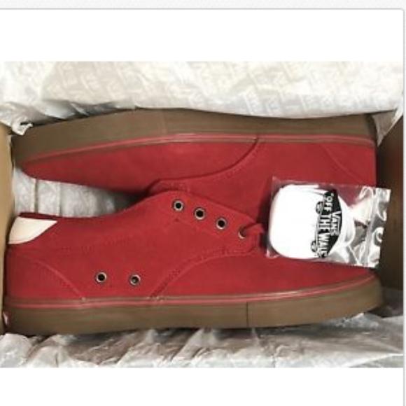6ea89f295f Vans Chima Estate Pro Scarlet Red Gum Ultra Cush🌹